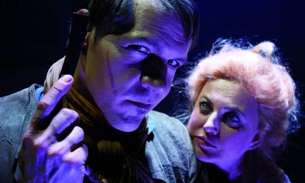 René van Kooten en Vera Mann met Sweeney Todd langs Nederlandse theaters