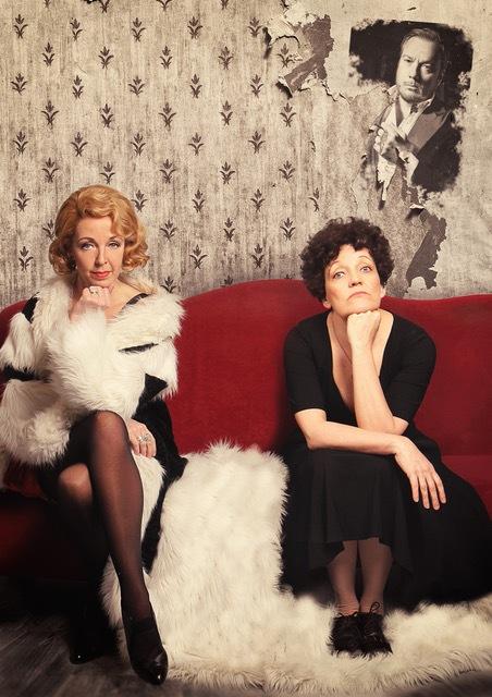 Marlene Dietrich en Edith Piaf samen op 50Plus Beurs