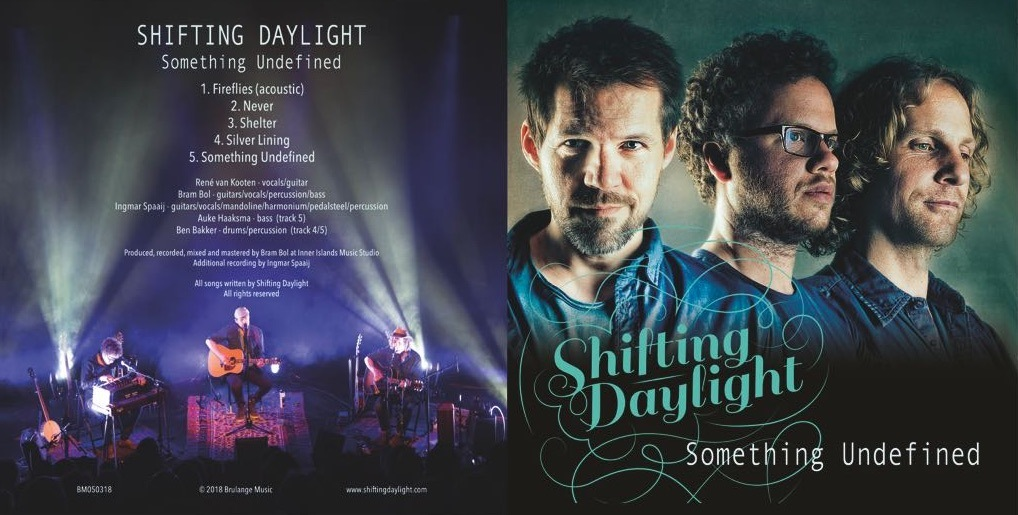 'Shifting Daylight' lanceert EP 'Something Undefined' en vinyl-LP