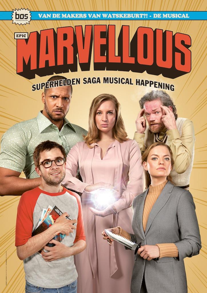 Gloednieuwe musical over superhelden komt naar het theater