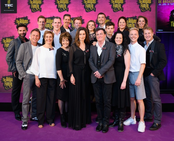Cast 'The Addams Family' compleet