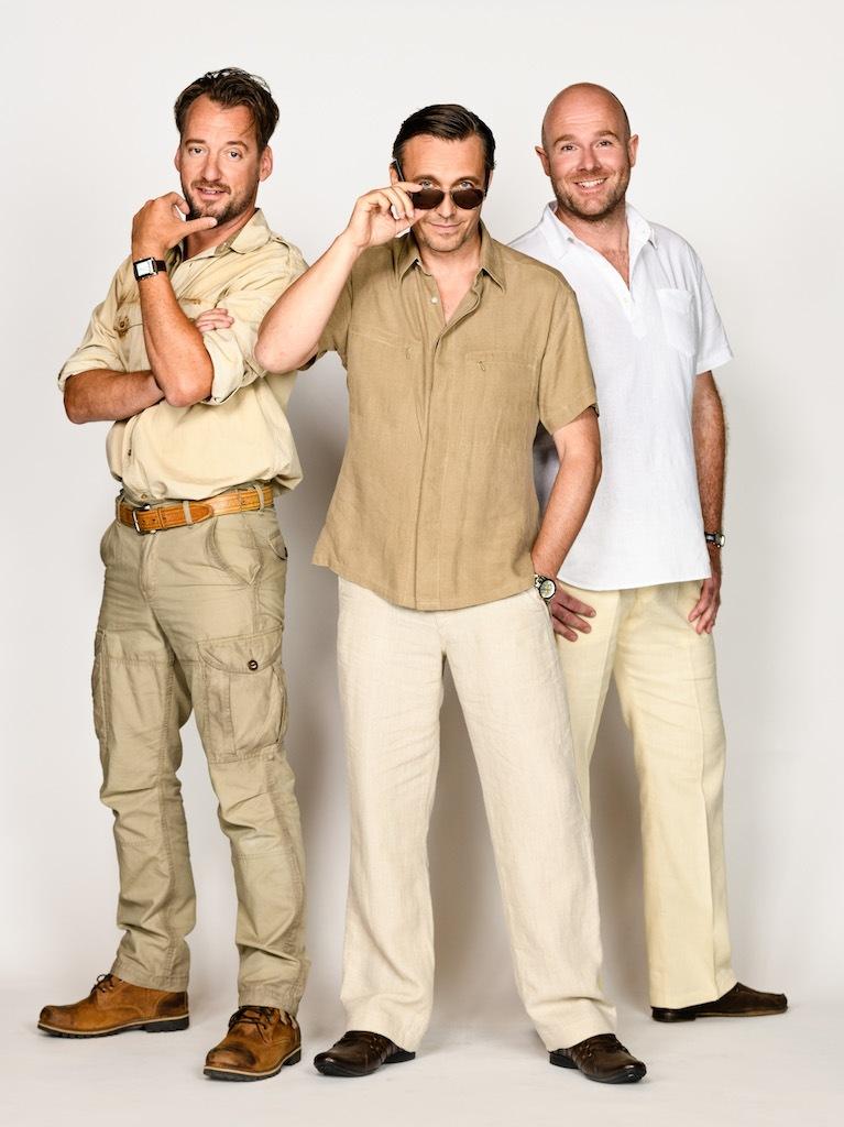 Dit zijn de mannen van Antje Monteiro in MAMMA MIA!