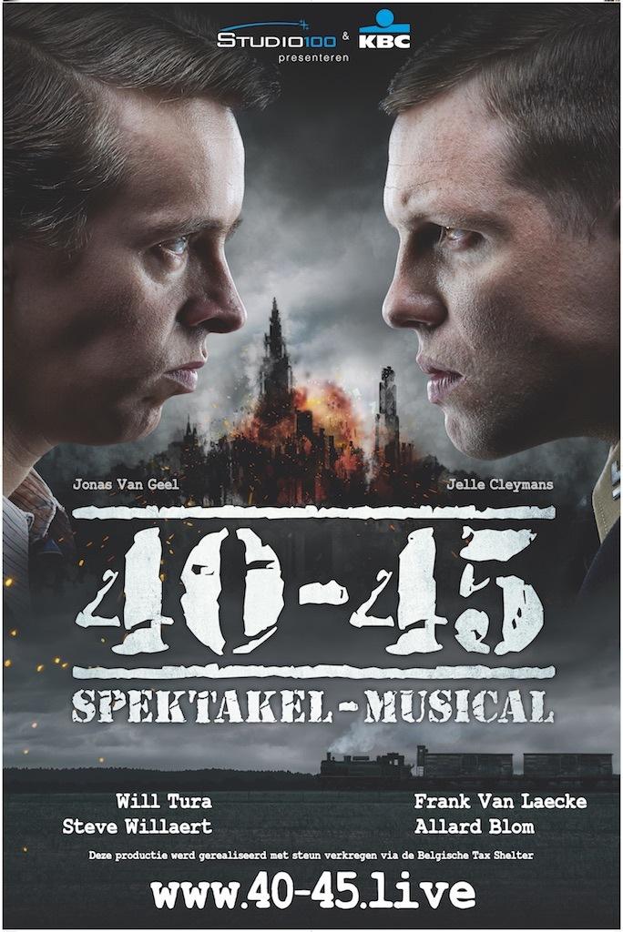 Michiel De Meyer en Jo Hens understudy hoofdrollen in '40-45'