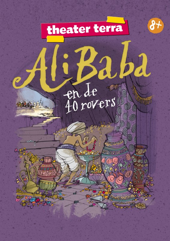Ali Baba en de 40 rovers - Artwork Theater Terra