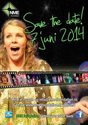 Flyer audities NME foundation 2014 verkleind