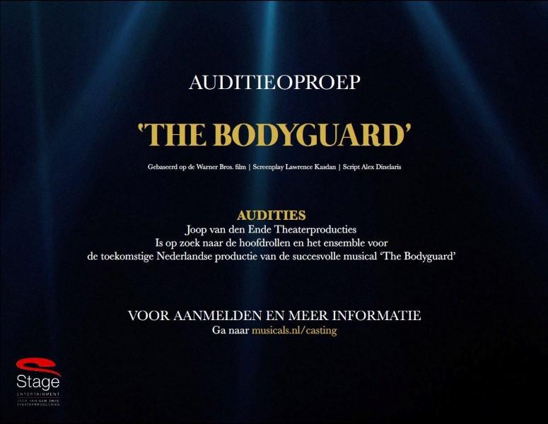 Auditie The Boyguard