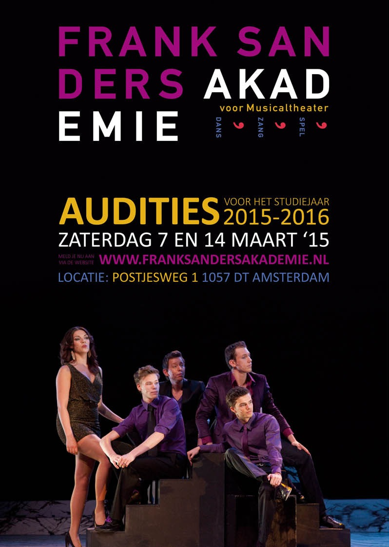 Audities Frank Sanders Akademie 2015 - 2016