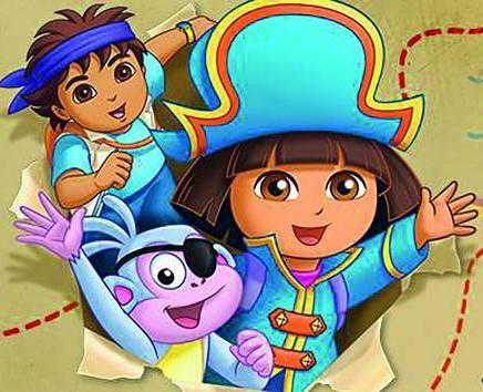 Dora's Piratenavontuur