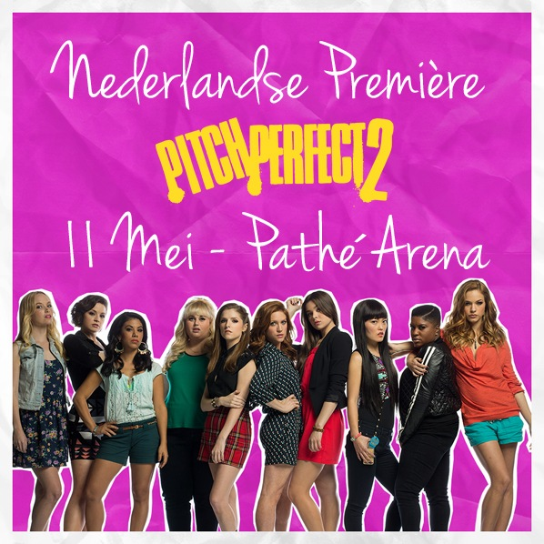Pitch Perfect 2 premiere