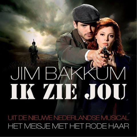 Nieuwe single Jim Bakkum uit 'Het meisje met het rode haar' binnen één dag in top-10