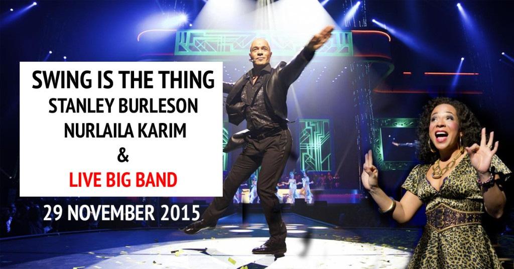 Stanley Burleson & Nurlaila Karim in 'Swing is the Thing'