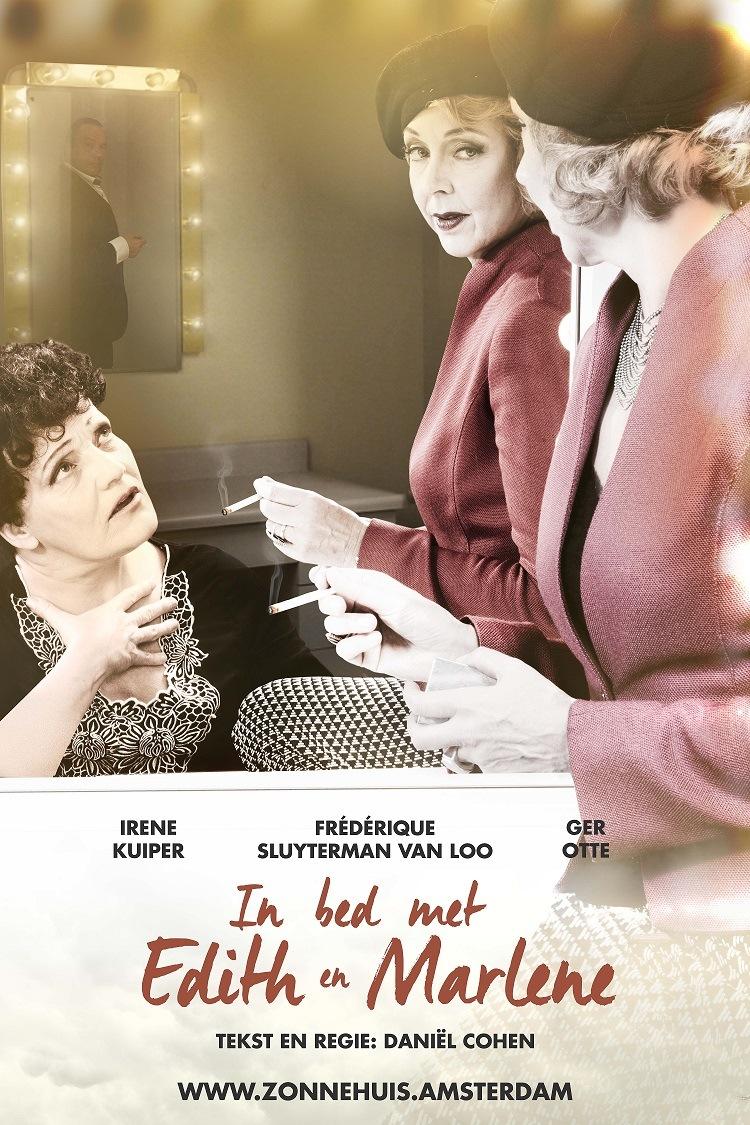 In bed met Edith en Marlene