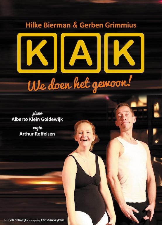 Hilke Bierman en Gerben Grimmius spelen KAK