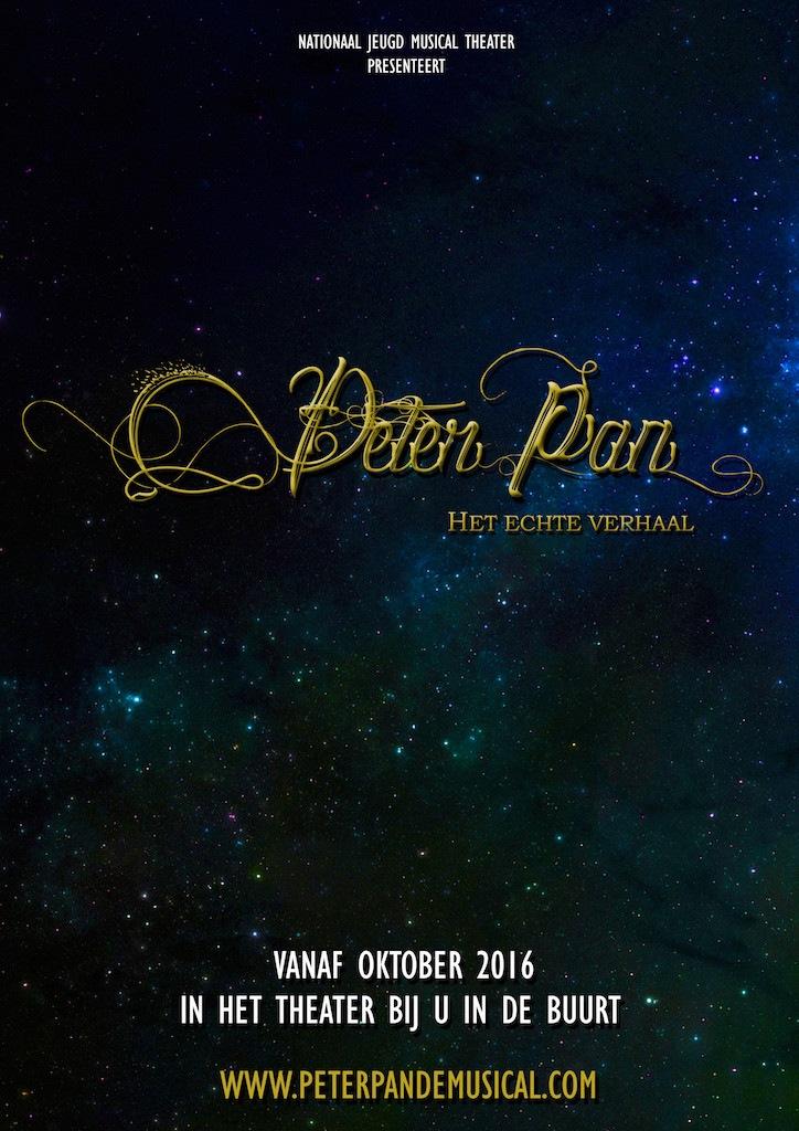 NJMT presenteert nieuwe Nederlandse tourproductie Peter Pan, Het échte Verhaal