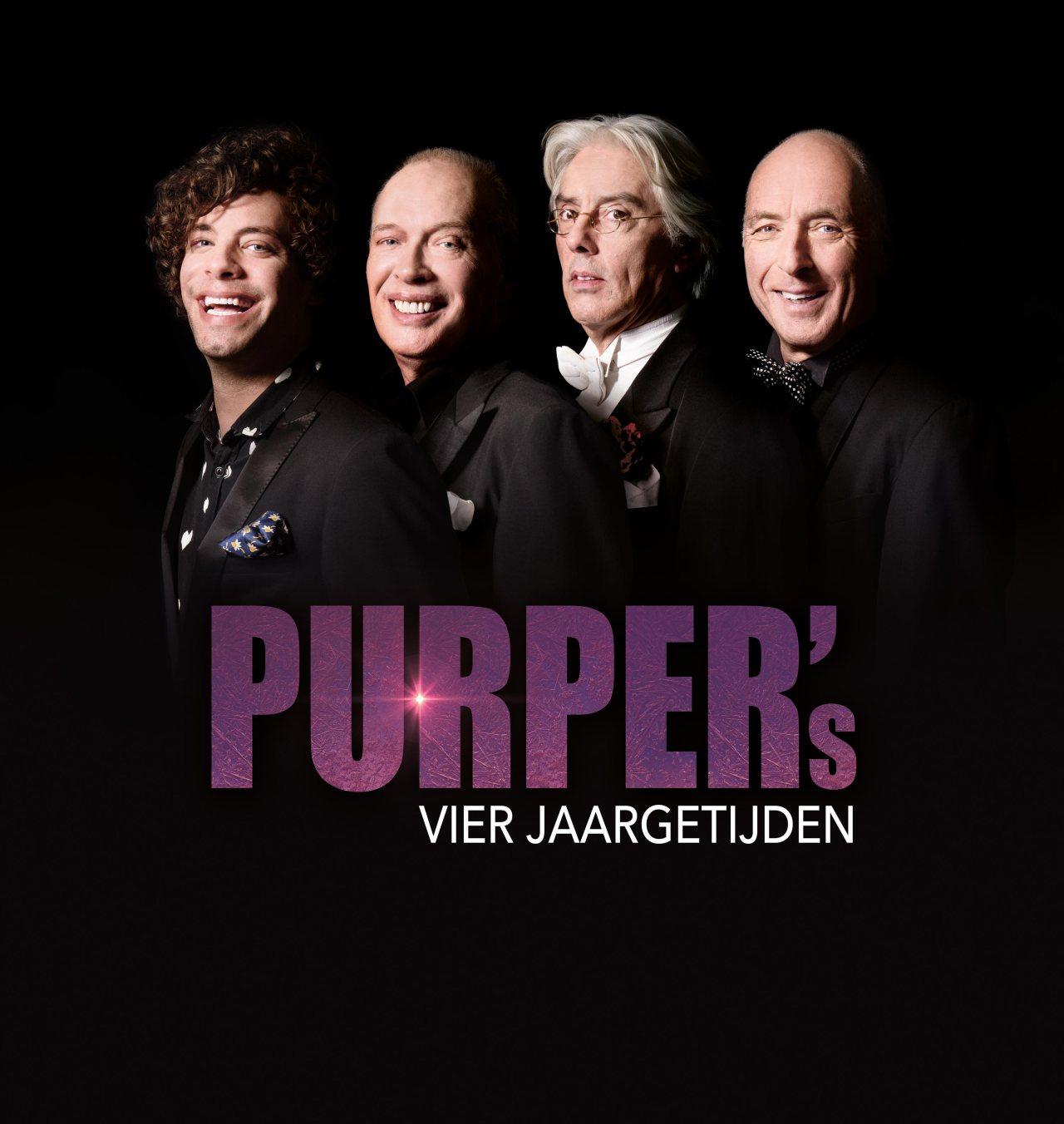 PURPER terug in het theater met Frans Mulder, Erik Brey, Alfred van den Heuvel en Diederick Ensink