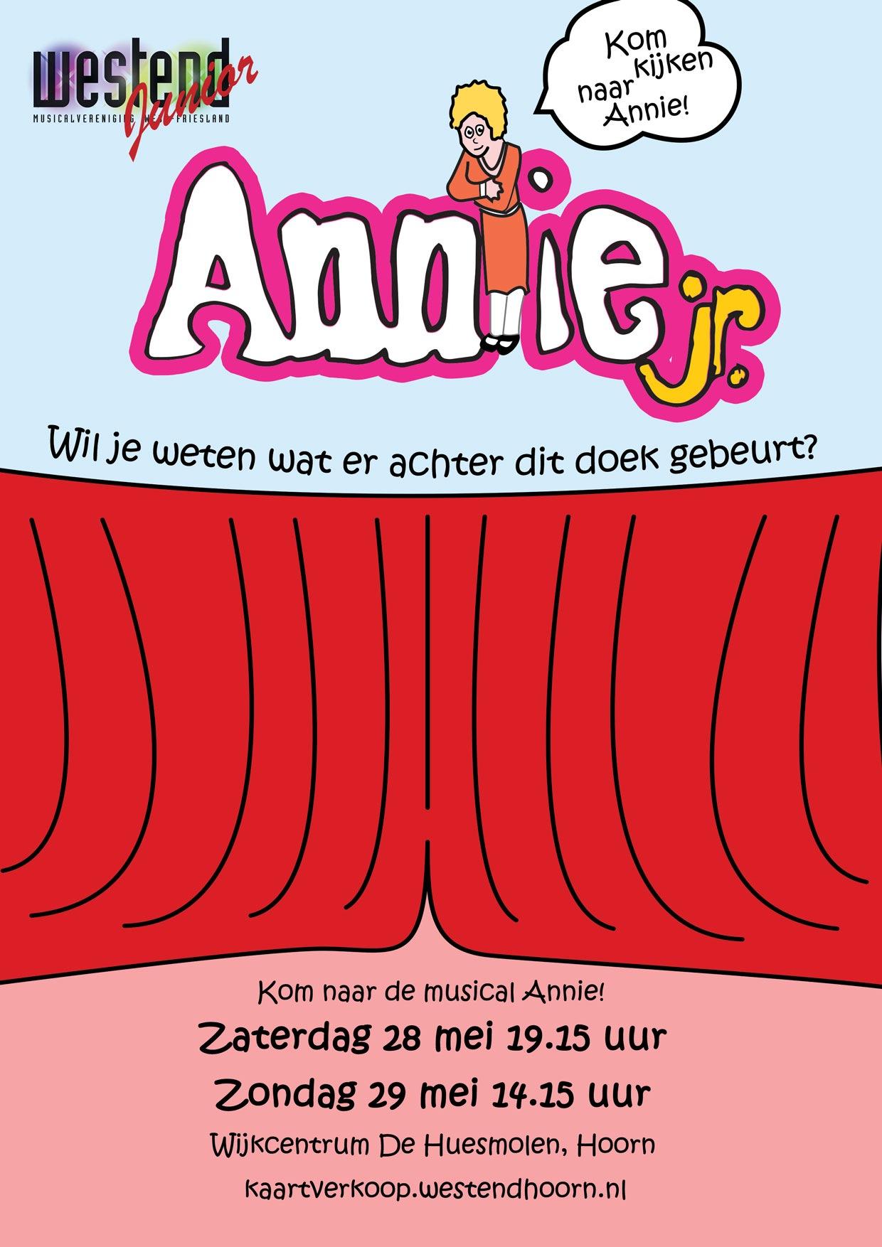 Westend Junior brengt jong talent met musical Annie