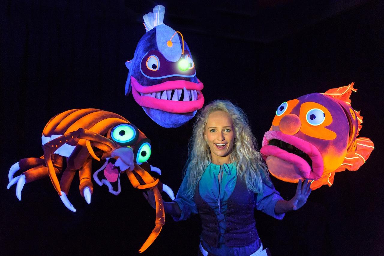 Meer dan 50.000 bezoekers voor 'Deep Ocean Monsters'