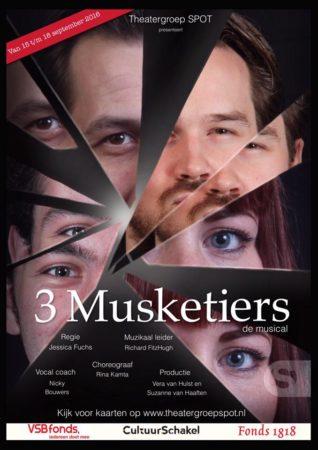 Theatergroep SPOT presenteert '3 Musketiers, de musical'