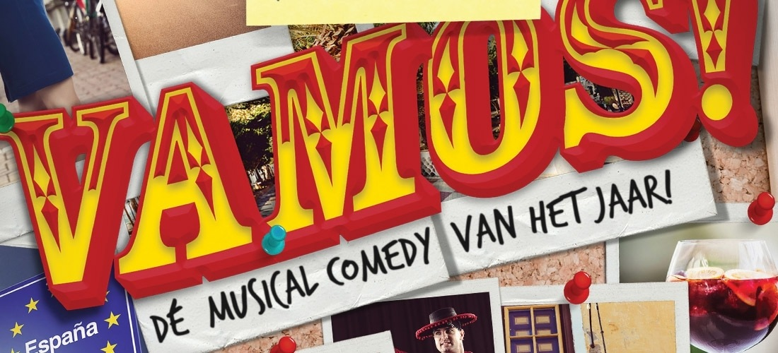 Rick Engelkes en RTL Live Entertainment presenteren de nieuwe musical comedy VAMOS!