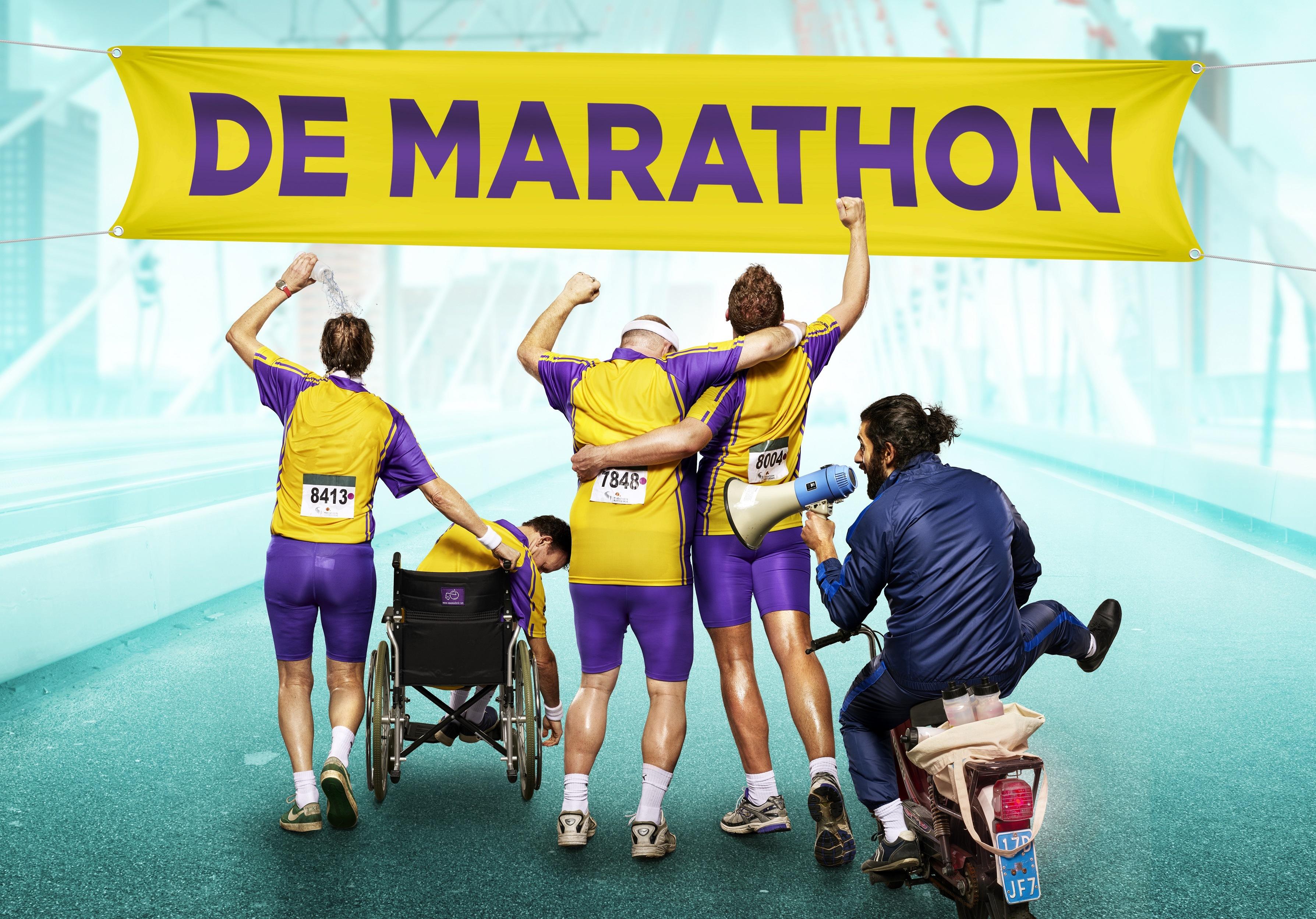 'De Marathon' geeft sneak preview tijdens de Luxor Marathon Run