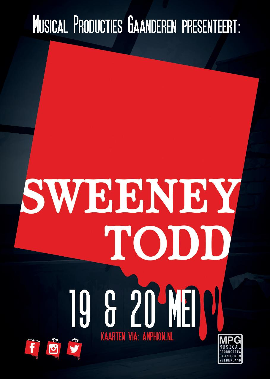 MPG zoekt met spoed een choreograaf voor Sweeney Todd