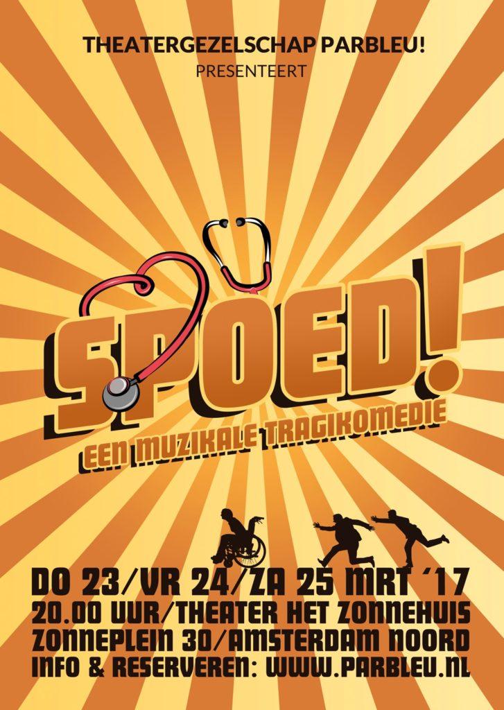 Muzikale tragikomedie SPOED! in theater Het Zonnehuis