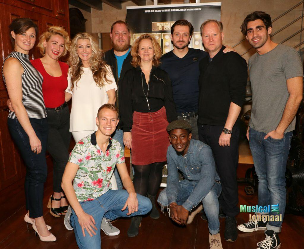 Cast 'The Full Monty' gaat naakt op Musical Awards Gala