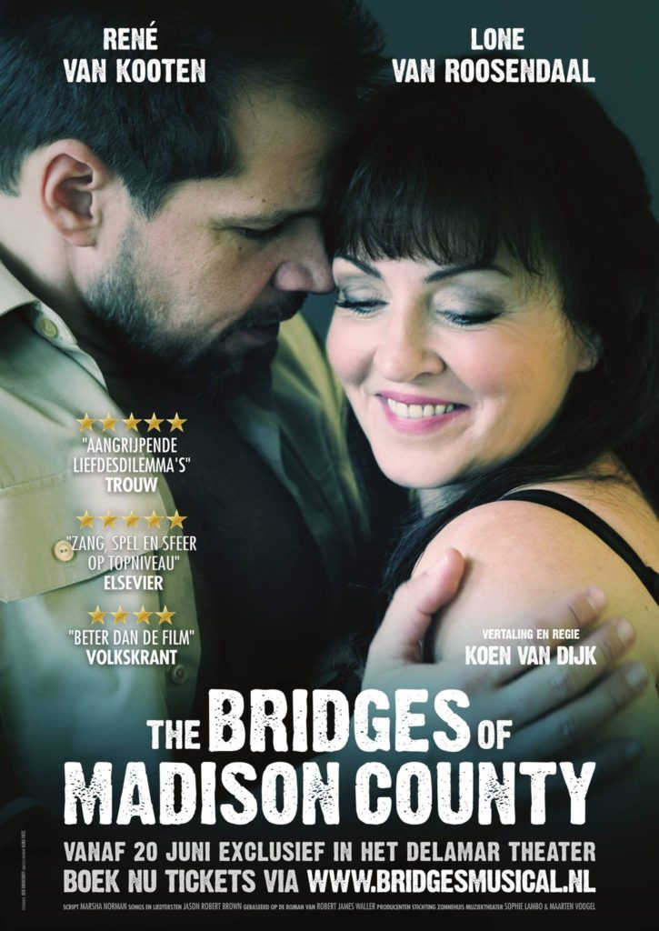 Reprise voor 'The Bridges of Madison County' in DeLaMar