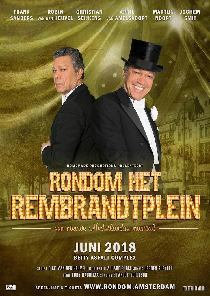 Extra voorstellingen 'Rondom het Rembrandtplein'