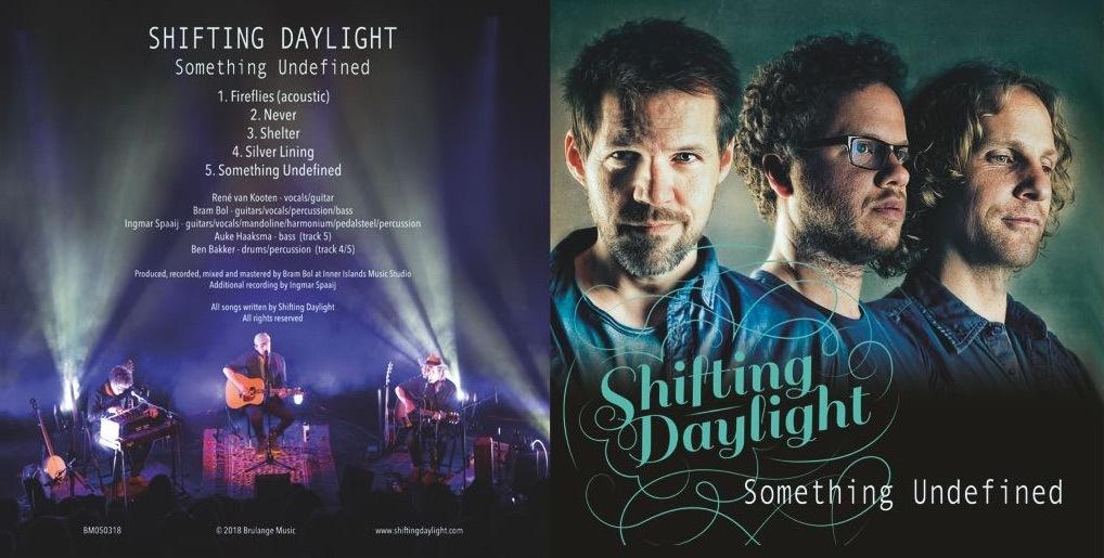 'Shifting Daylight' lanceert EP 'Something Undefined' en vinyl-LP