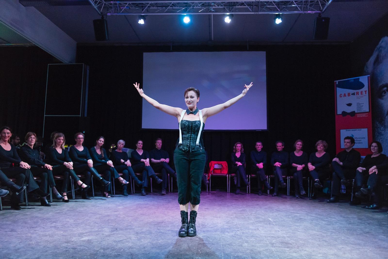Scala speelt voor Musicians without Borders