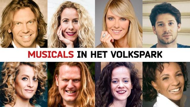'Musicals in het Volkspark' 9 juni in Enschede