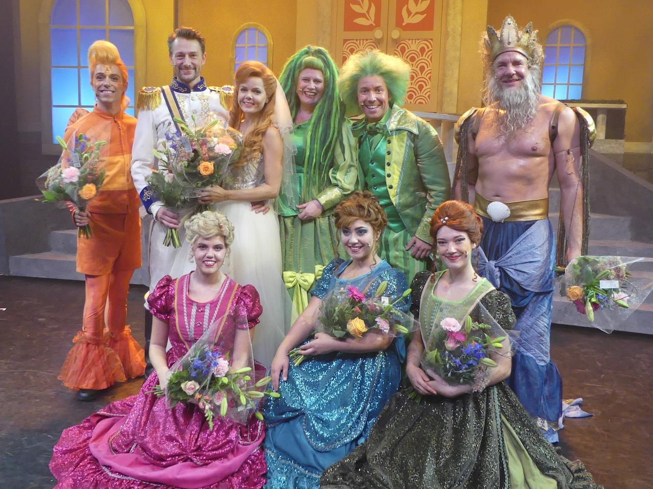 'De Kleine Zeemeermin De Musical' succesvol in première