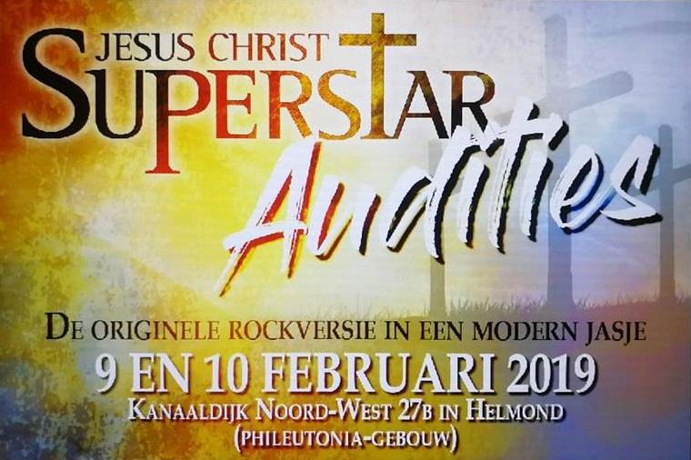Auditie-oproep: Stichting Musicals in Helmond zoekt zangers/dansers voor Jesus Christ Superstar