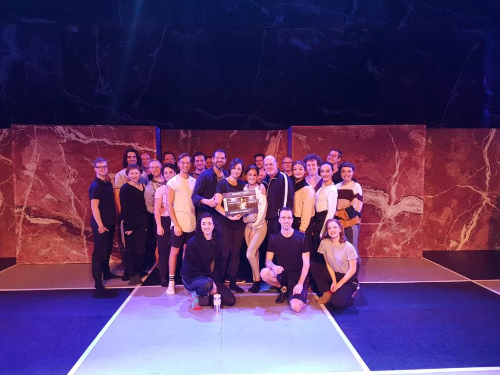 Musical Evita verkoopt 100.000ste ticket