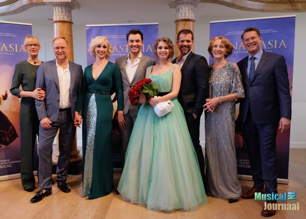 Hoofdrolspelers musical Anastasia gepresenteerd in Hermitage Amsterdam