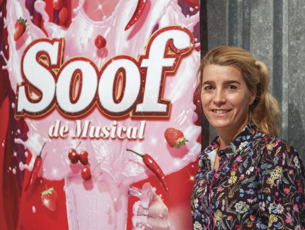 Nicolien Sauerbreij in laatste voorstellingen musical 'Soof' in Amsterdam
