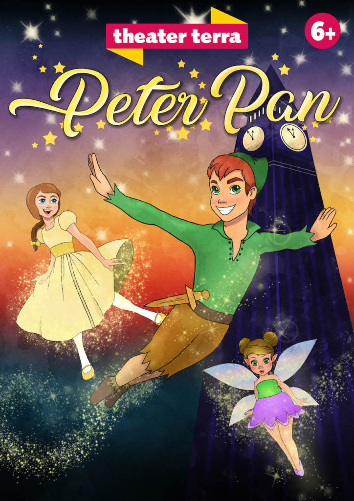 Nieuwe familiemusicals 'Peter Pan' en 'Kikker en het Avontuur' van Theater Terra komend seizoen te zien