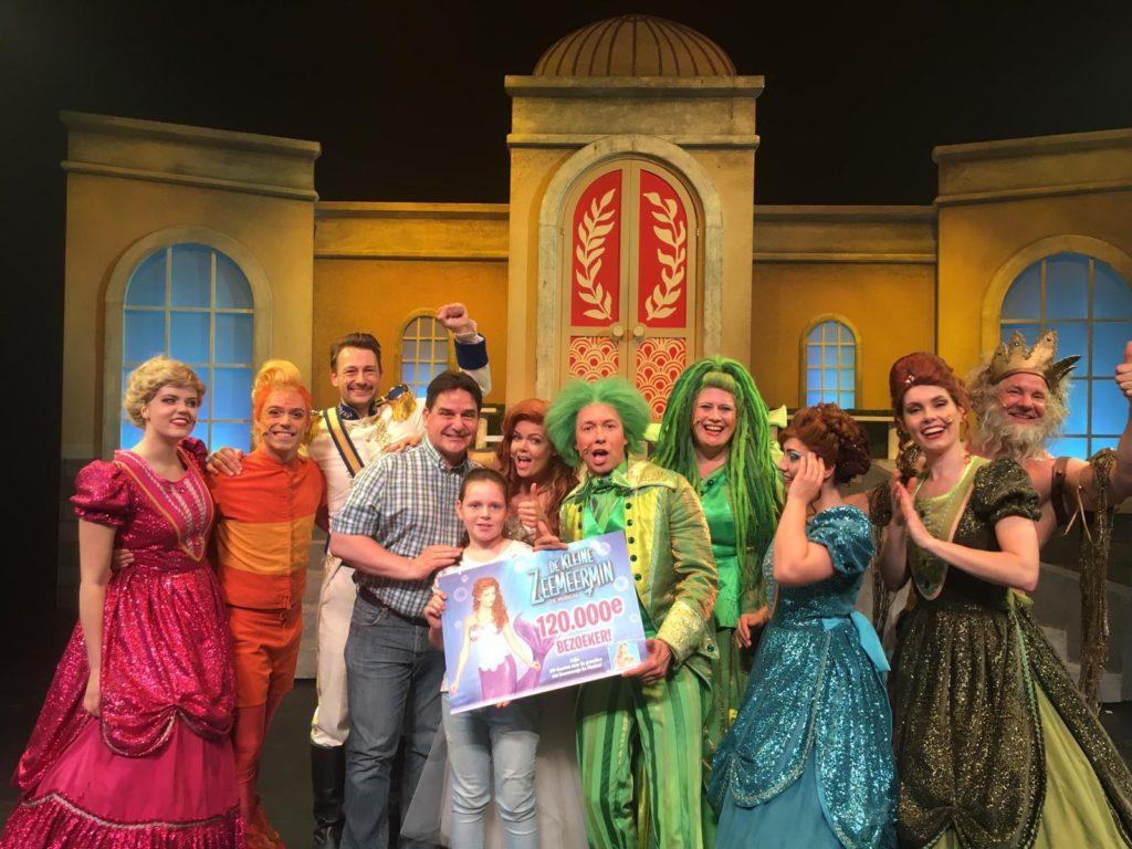 120.000 tickets voor 'De Kleine Zeemeermin De Musical' verkocht