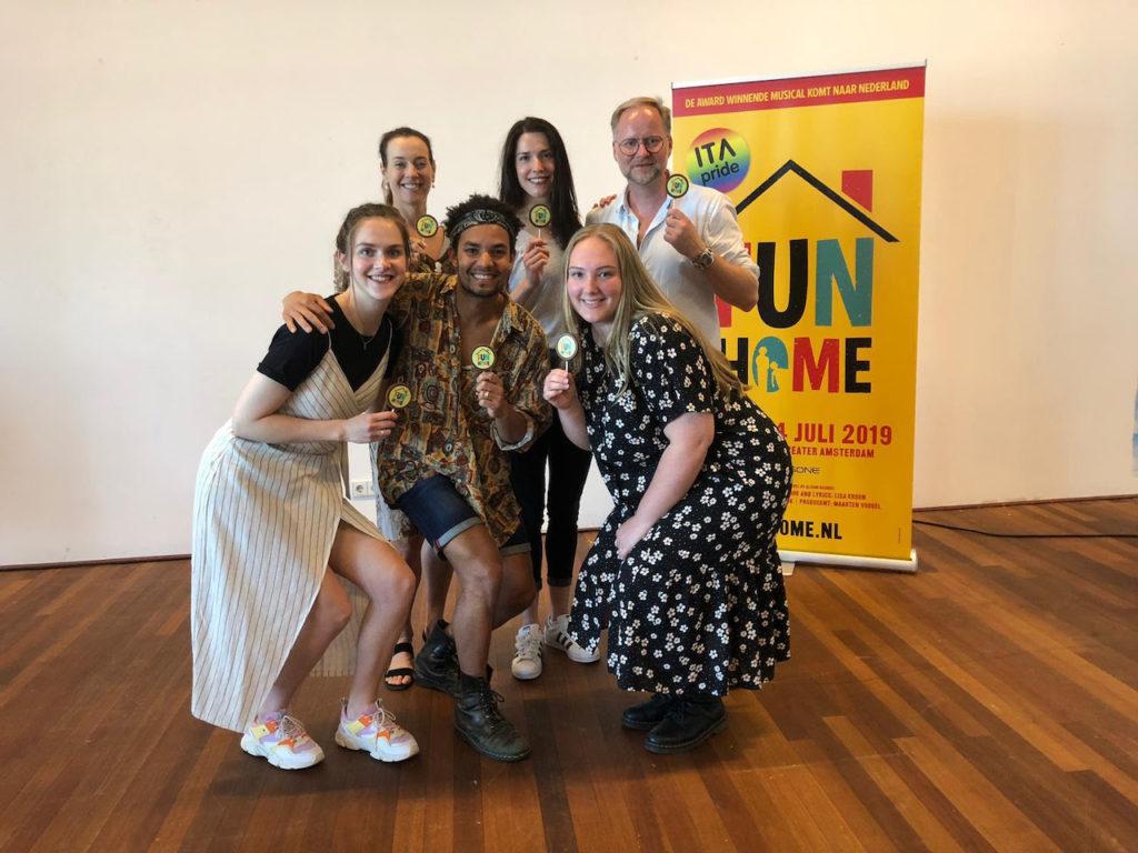 Repetities musical 'Fun Home' gestart