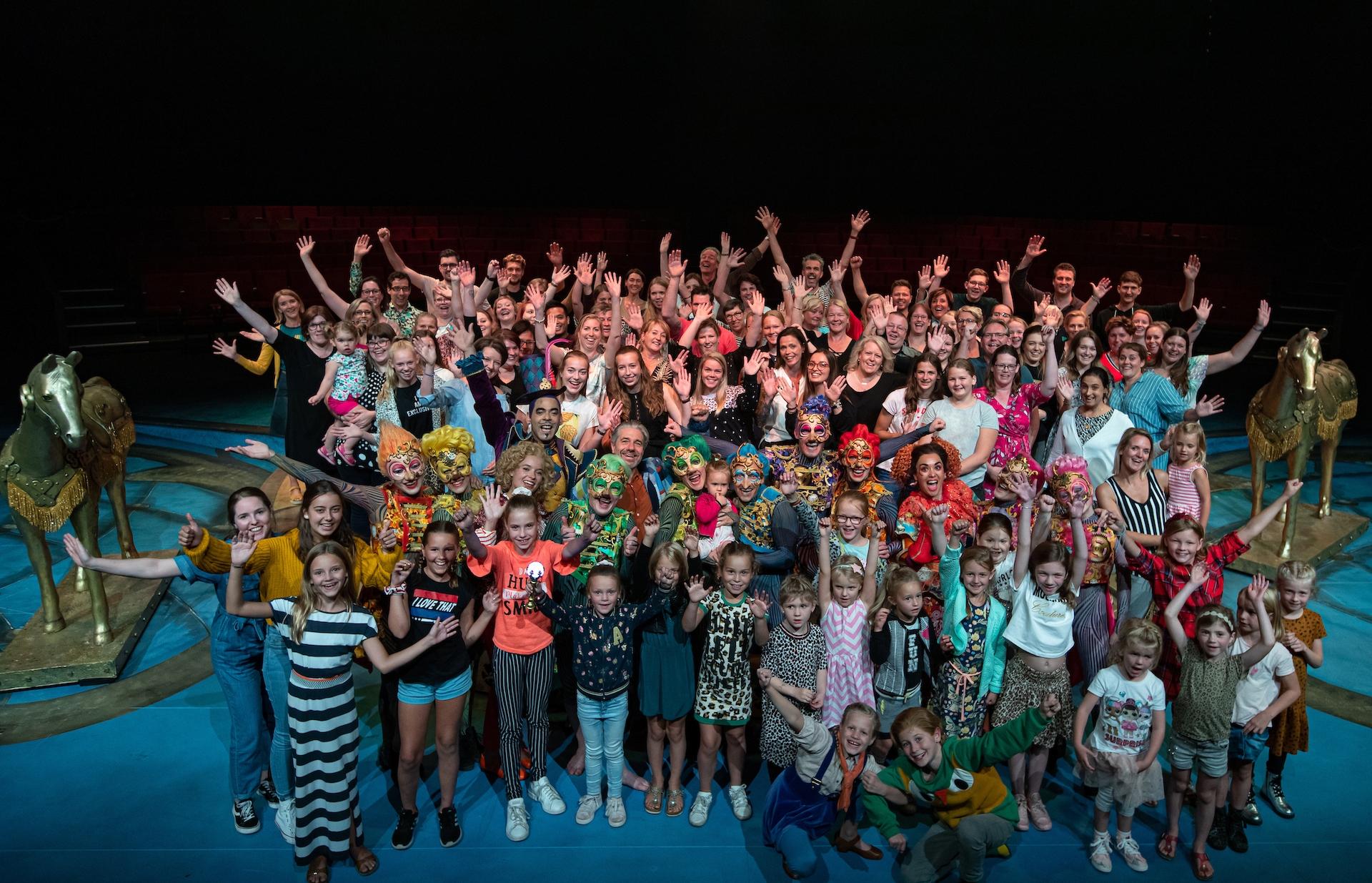 Efteling-theaterproductie CARO viert 1-jarig bestaan
