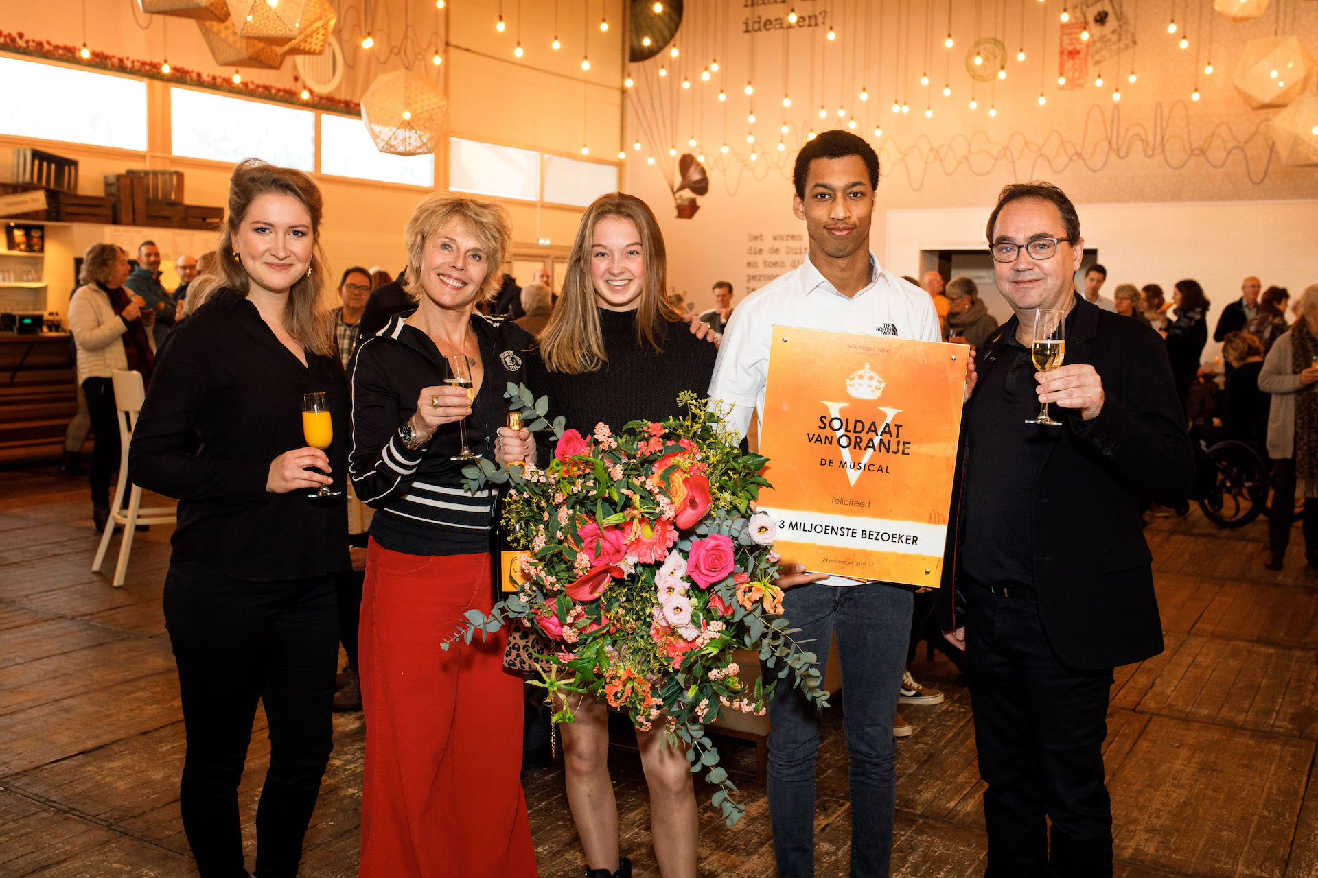 Soldaat van Oranje - De Musical ontvangt 3 miljoenste bezoeker