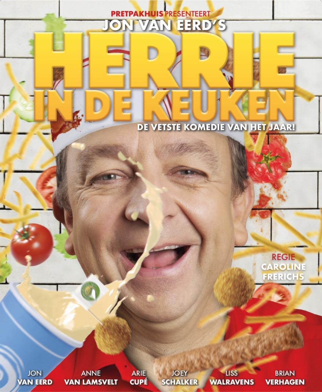Beau van Erven Dorens speelt rol in nieuwe komedie 'Herrie in de Keuken'