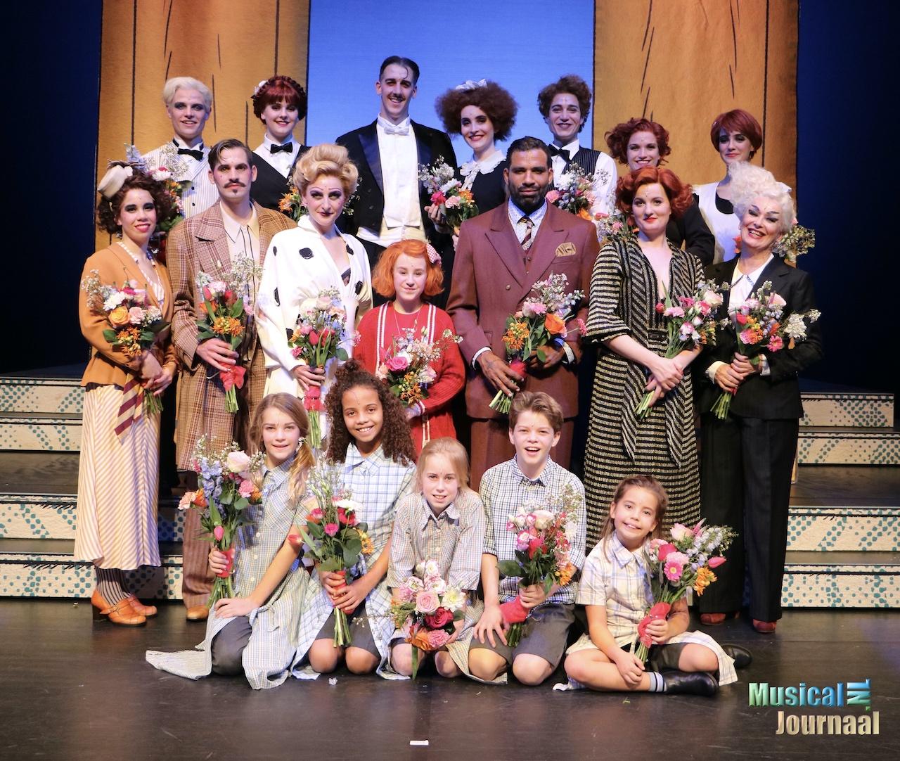 Cast van 'Annie de Musical' is schot in de roos