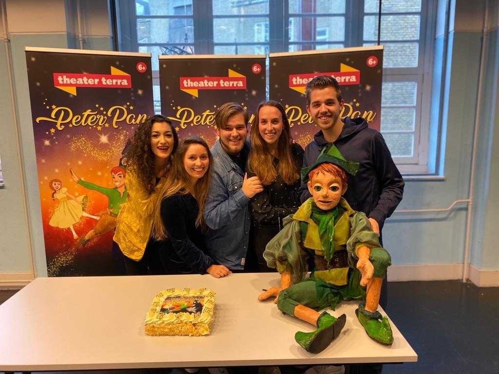 Repetities gestart voor 'Peter Pan'
