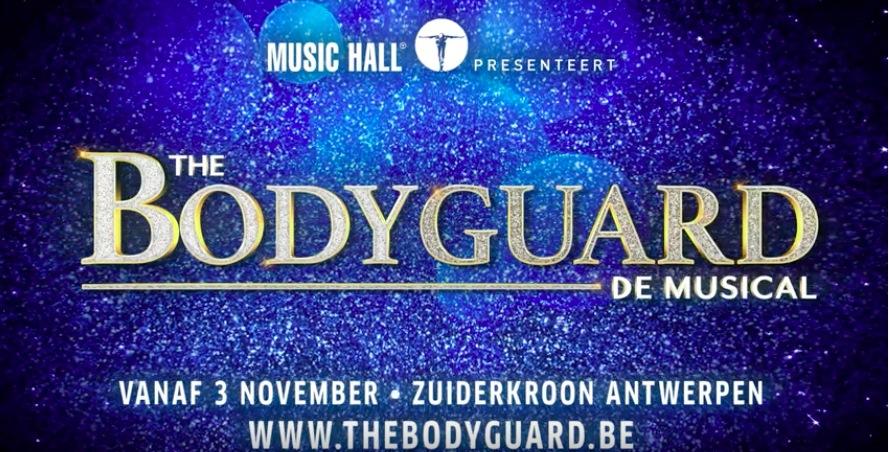 Music Hall brengt hitmusical 'The Bodyguard' naar Vlaanderen