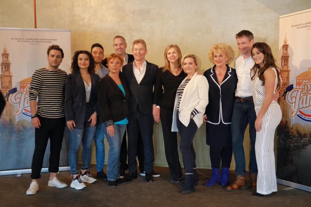 Presentatie cast 'Vier 100 jaar de Jantjes'