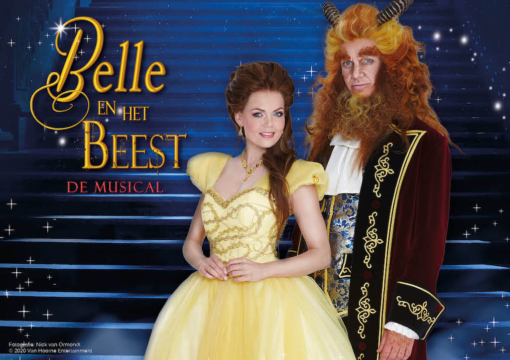 Bettina vervangt zwangere Sita in 'Belle en het Beest De Musical'