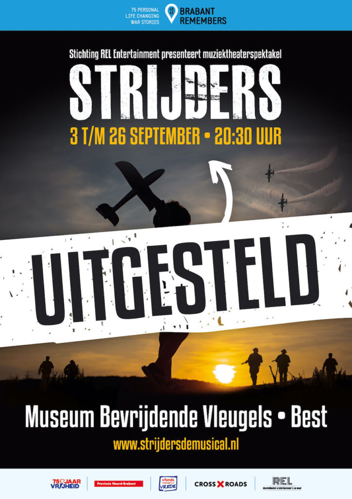 Muziektheaterspektakel 'Strijders' uitgesteld tot september