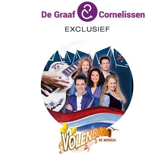 Producent De Graaf en Cornelissen plaatst 'Volendam de Musical' integraal op YouTube